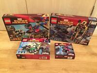 Collection of Lego Spider-Man Superheroes sets. All brand new and sealed. 1 of each set included