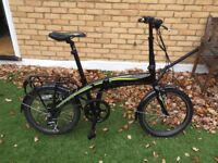 Carrera Foldable Electric Bike With Lock and Charger