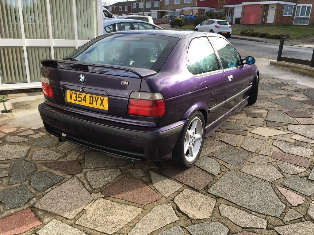 bmw e36 compact 318 ti genuine m sport in orpington london gumtree. Black Bedroom Furniture Sets. Home Design Ideas