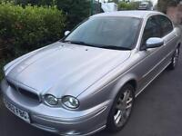 Jaguar type v6 2.5 silver long mot £1195
