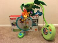 Fisher Price Rain forest cot / crib mobile