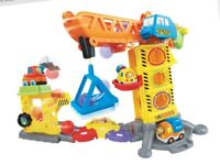 VTECH TOOT TOOT DRIVERS CONSTRUCTION SITE TOY