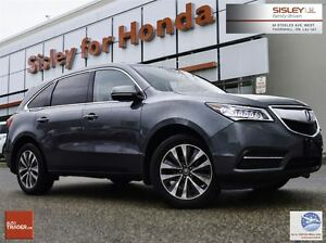 2014 Acura MDX Navigation Package - One Owner, Car Proof Clean