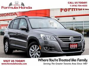2009 Volkswagen Tiguan 2.0T | LOW KM | FUEL EFFICIENT | ALL WHEE