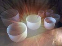 Come and Experience the relaxing tones of the Crystal Singing Bowls Saturday 2nd December