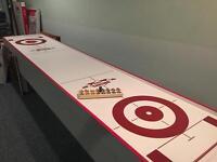 Curling shuffleboard 10 ft.