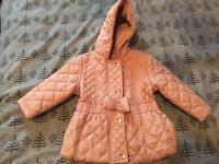 Girls coat 3-6 months