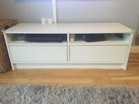 IKEA white tv unit