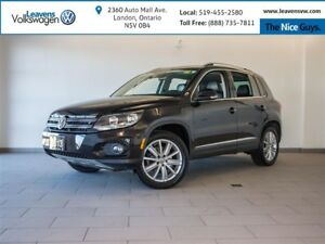 2013 Volkswagen Tiguan HIGHLINE+4MOTION AWD+ LEATHER+BLUETOOTH