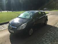 VAUXHALL CORSA NEW SHAPE 2008 1.2 3 DOOR BLACK MOTD DRIVES