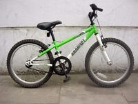 Kids Bike by Apollo, Green & White, 20 inch Wheels are Great for Kids 7+, JUST SERVICED/ CHEAP PRICE