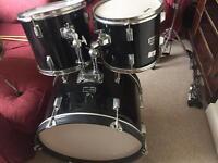 Black Supreme Drum kit