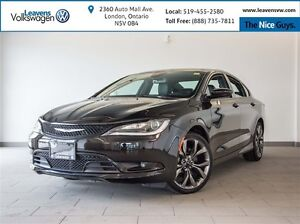 2016 Chrysler 200 S+NAVI+BACK UP CAM+HEATED VENTILATED LETHR SEA