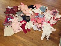 Girls clothing bundle 3-6months