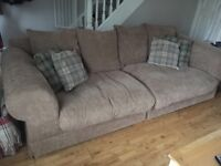 4 seater Sofa and armchair for sale
