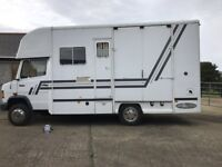 Very tidy lorry. Stalled for 2. Living area. Bed above cab. 1997 diesle. 7 and half ton.
