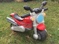 Toddler ride-on motorbike chicco