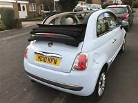 FIAT 500c CONVERTIBLE LADY OWNER FULL SERVICE IMMACULATE BARGAIN