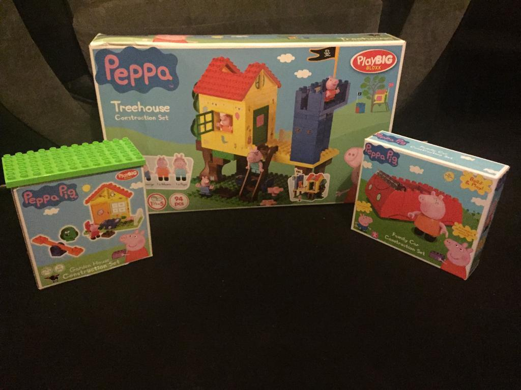 Peppa Pig Construction Like Lego Duplo In Dukinfield Manchester