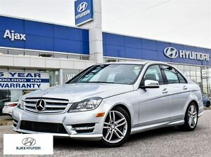 2012 Mercedes-Benz C-Class C250 4MATIC All Wheel Drive | Sunroof