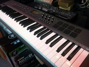 *USED* M-AUDIO MIDI KEYBOARD CONTROLLERS - GREAT CONDITION, AMAZING PRICES - OXYGEN 49 $180 AND AXIOM 61 $250