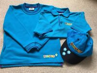 Beavers uniform - sweatshirt, polo shirt and cap