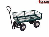 Draper 58552 GMC Steel Mesh Garden Cart QUAD Trolley LEAF COLLECTOR