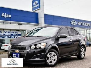 2014 Chevrolet Sonic LT |  138 hp | Bluetooth | Traction & Stabi