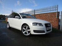 **REDUCED** Audi A3 Cabriolet 1.8L TFSI / 10 plate / Petrol / ONLY 60k Miles