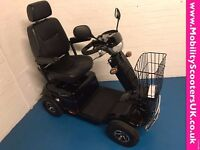Electric Mobility Rascal Pioneer Large Mobility Scooter 8mph In Black