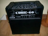 """Great amp in very good condition. 7 modeled amps, 6 digital effects, 60 Watts with 12"""" speaker."""