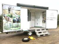 Lyndon Exhibition Trailer *lockable office & electrics inside*