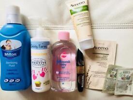 Baby products Aveeno,Kiehls,Childs Farm