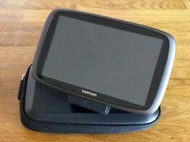 """TomTom 6100 Sat Nav 6"""" Screen Includes Holder & Case"""