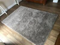 **NEW** XXL SUPERSOFT RUG IN MOCHA **RRP £130** Bargain at £89