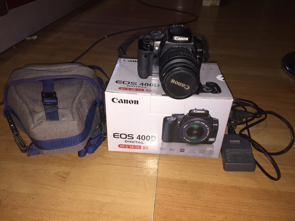 Canon EOS 400D in good condition