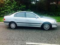 CHEAP TOYOTA AVENSIS 1.8L (2001) Full year mot 5 door