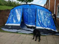 8 Man Tent with Porch and Carpet
