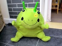 Frog Character Space Hopper with removable washable cover