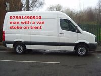 MAN WITH A VAN STOKE ON TRENT