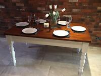 Stunning solid and chunky table