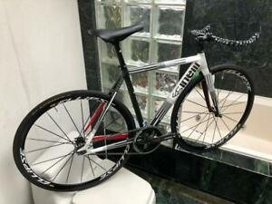 BRAND NEW (SIZE XS) CINELLI MASH CUSTOM TRACK / FIXED GEAR BUILD