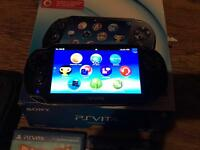 PS vita 3G (16gb) with games.