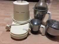 Preethi Mixer 750 w and 3 jars for sale