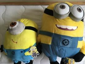 2 minion soft toys brand new with tags