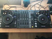 Pioneer cdj 1000 mk3 pair and djm 700 mixer boxed