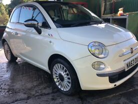FIAT 500 1.2 lounge stop & start low mileages