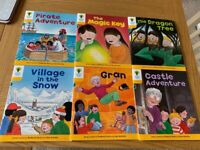 Biff & chip oxford reading tree books (6 books) level 5