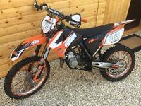 2010 KTM 85sX BIG WHEEL PLUS SET SMALL WHEELS ,boots suit ,helmet not yz kx rm