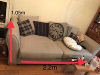 3 seater scatterback sofa
